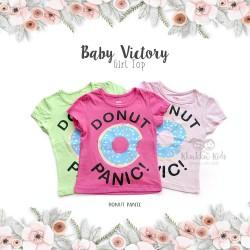 Baby Victory Girl Top - Donut Panic