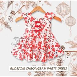 Blosssom Cheongsam Party Dress