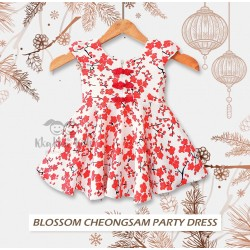 Blosssom Cheongsam Party Dress
