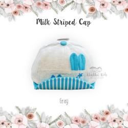 Milk Striped Cap