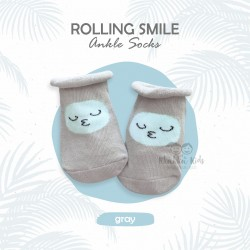 Rolling Smile Ankle Sock
