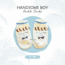 Handsome Boy Ankle Sock