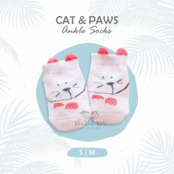 Cat Paw Paw Short Sock