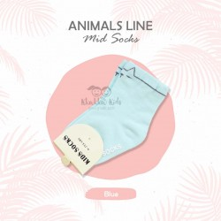 Animal Line Mid Sock