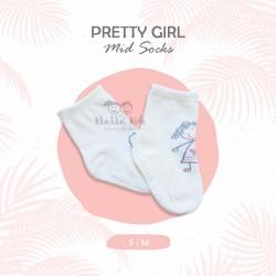 Pretty Girl Mid Socks