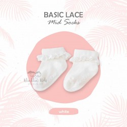 Basic Lace Ankle Sock