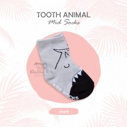 Tooth Animal mid socks
