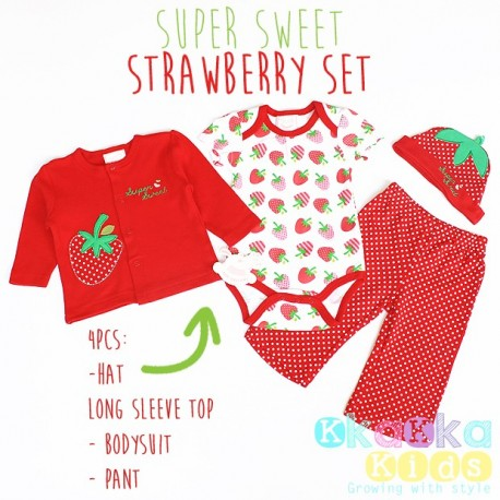 Super Sweet Strawberry Set