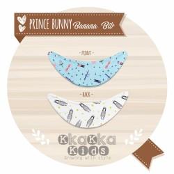 Prince Bunny Banana Bib