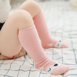Forest Animals Knee Socks