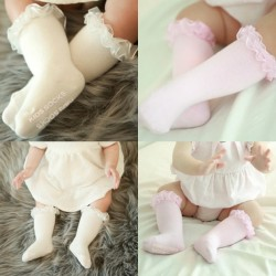 Spring Ruffle Knee Sock