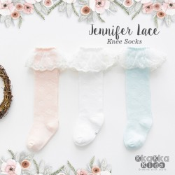 Jennifer Lace Knee Sock