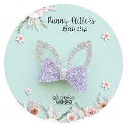Bunny Glitters Hairclip