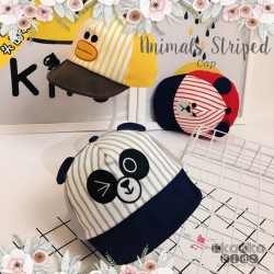 Animals Striped Cap