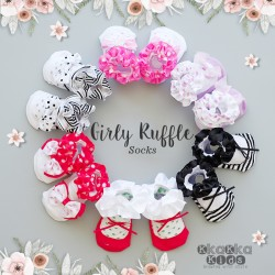 Girly Ruffle Sock