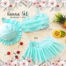 Hanna Set (Swimsuit + Hat)