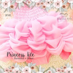 Princess Tille Swimsuit + Bonet