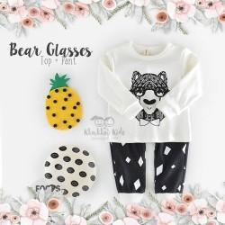 Bear Glasses Set