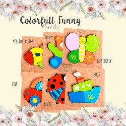 Colorfull Funny Puzzle
