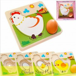 Chicken Story Puzzle