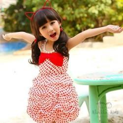 Miss B Polka Ballon Dress