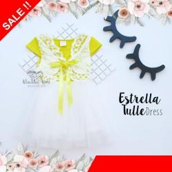 Estrella Tulle White Dress