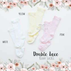 Double Lace Knee Sock